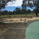 The Domain Creek Playground, Parramatta Park