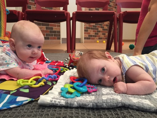 The babies at Playgroup
