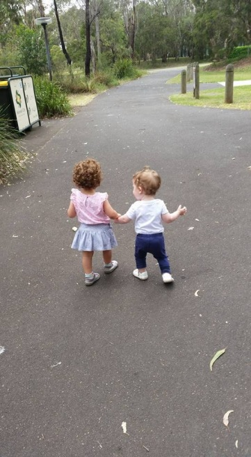 Making friends at Playgroup